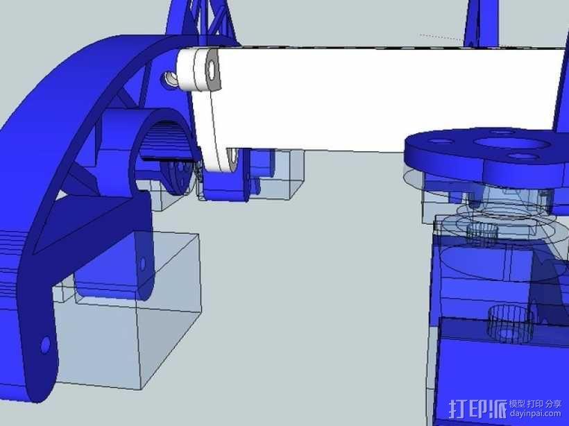 模块化仿昆虫机器人 3D模型  图8