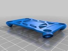 Pixhawk飞行控制器 防振支架 3D模型
