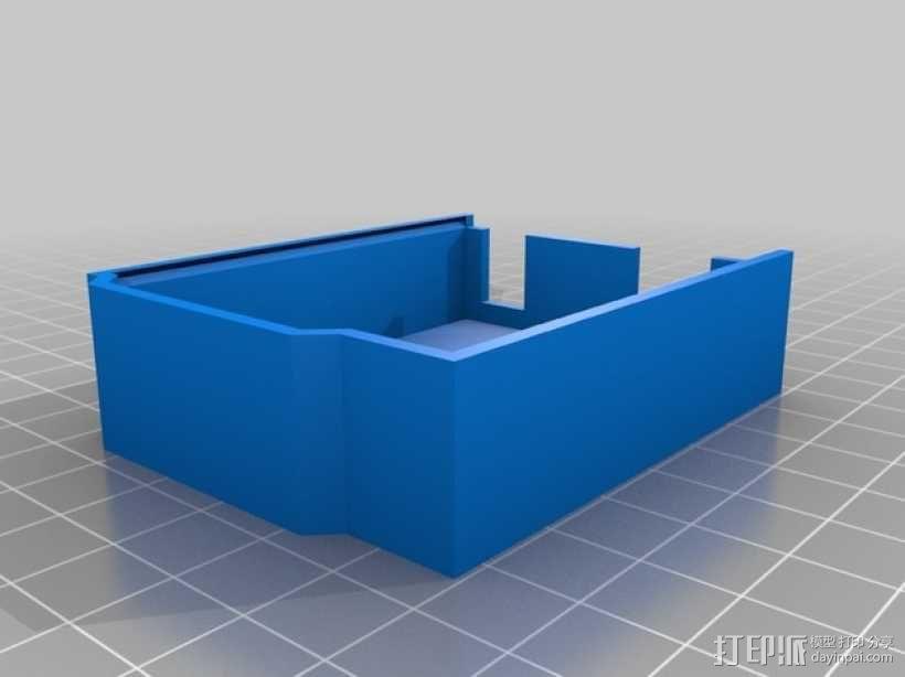 Arduino Uno微控制器外壳 3D模型  图3