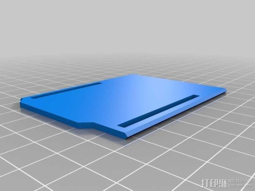 Arduino Uno微控制器外壳 3D模型  图2