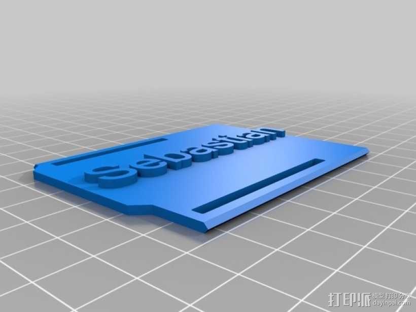 Arduino Uno微控制器外壳 3D模型  图5