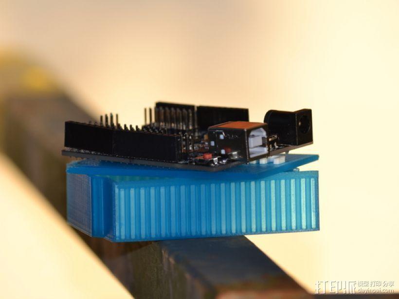 Arduino Uno微控制器外壳 3D模型  图6
