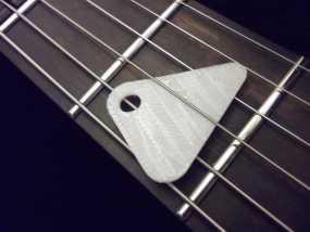 定制化琴拨 3D模型