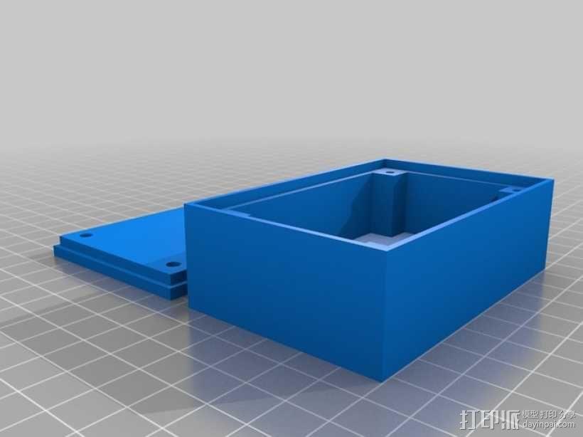 可定制收纳盒 3D模型  图1