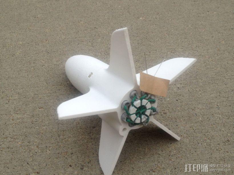 模块化火箭 3D模型  图3