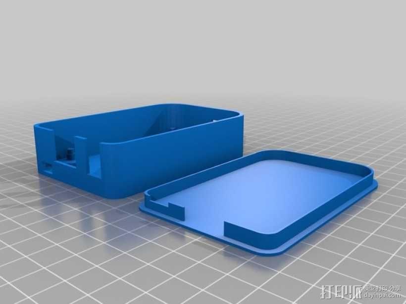 """""""小黑骨""""主板外壳 3D模型  图5"""
