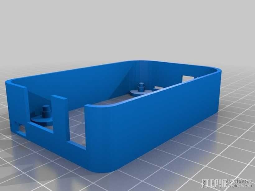 """""""小黑骨""""主板外壳 3D模型  图6"""