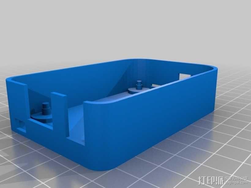 """""""小黑骨""""主板外壳 3D模型  图7"""