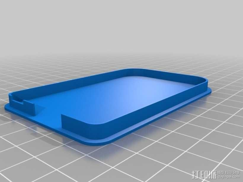 """""""小黑骨""""主板外壳 3D模型  图8"""