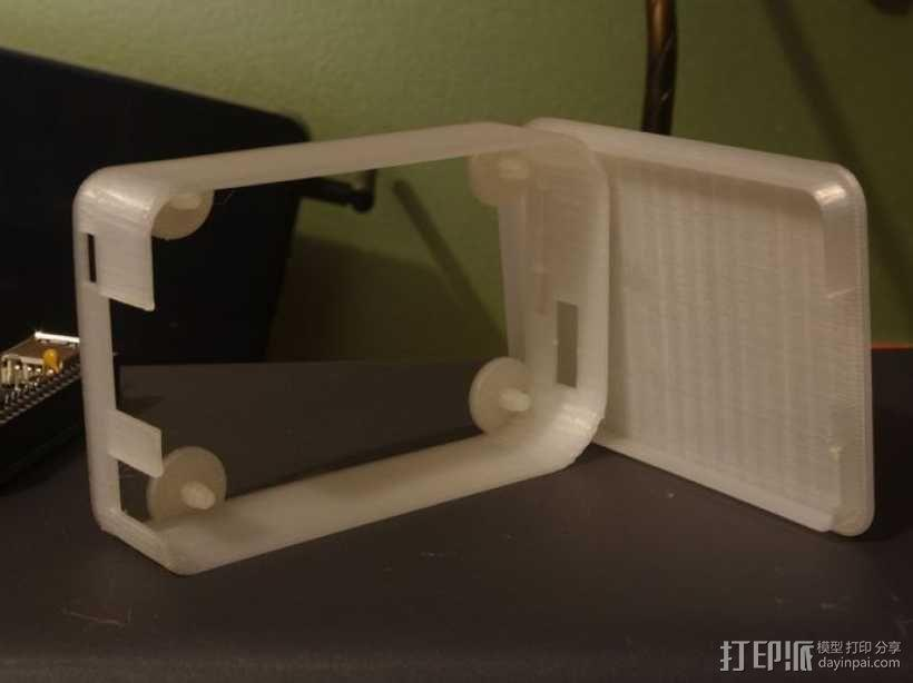 """""""小黑骨""""主板外壳 3D模型  图9"""