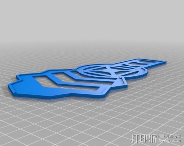 四轴飞行器 3D模型  图8