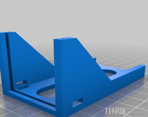 FatShark CCD摄像机支架 3D模型  图2
