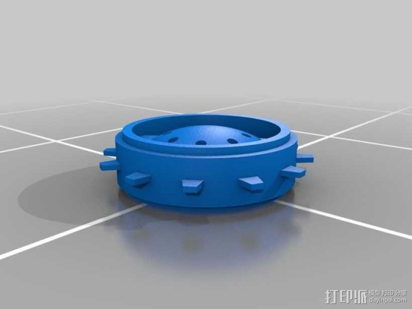 瓦力机器人 3D模型  图4