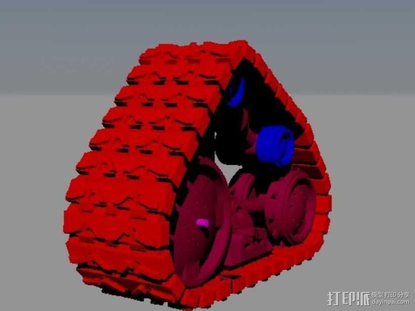 瓦力机器人 3D模型  图3