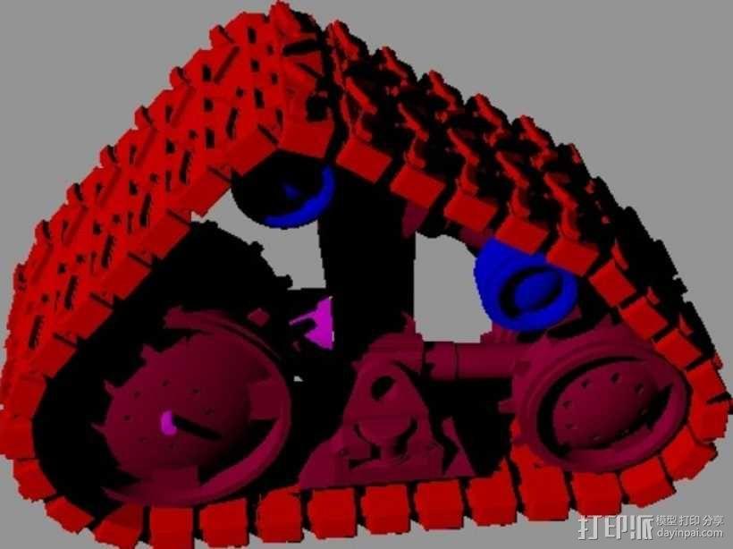 瓦力机器人 3D模型  图14