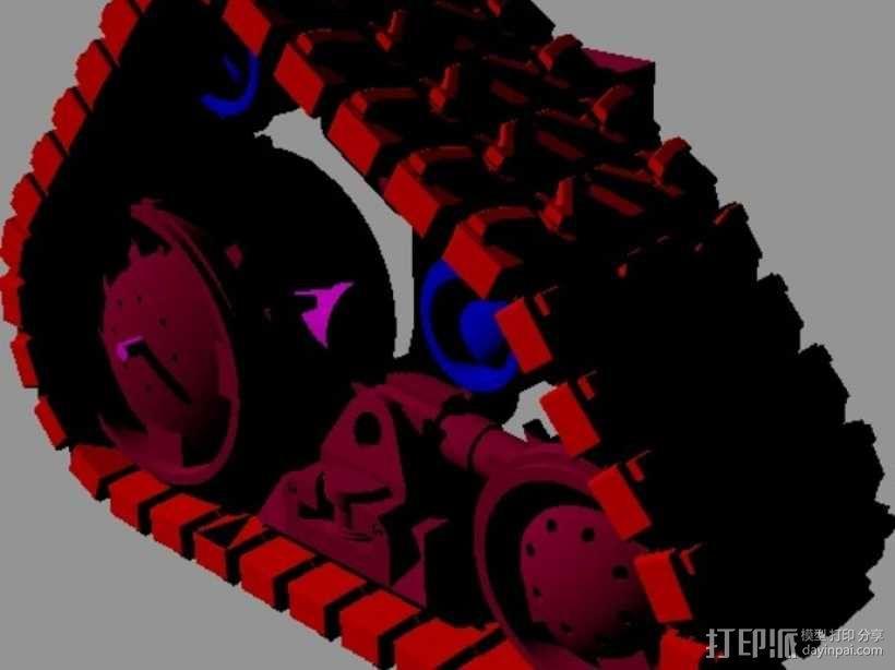 瓦力机器人 3D模型  图13