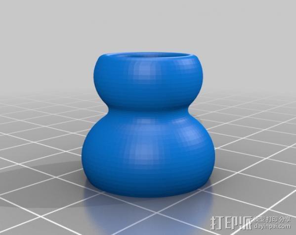 球窝接头 3D模型  图2