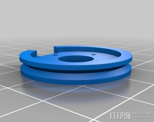 InMoov机械手指 3D模型  图2