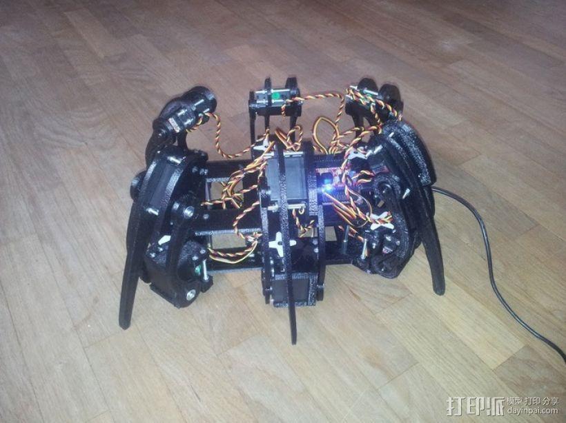 六足仿昆虫机器人 3D模型  图2