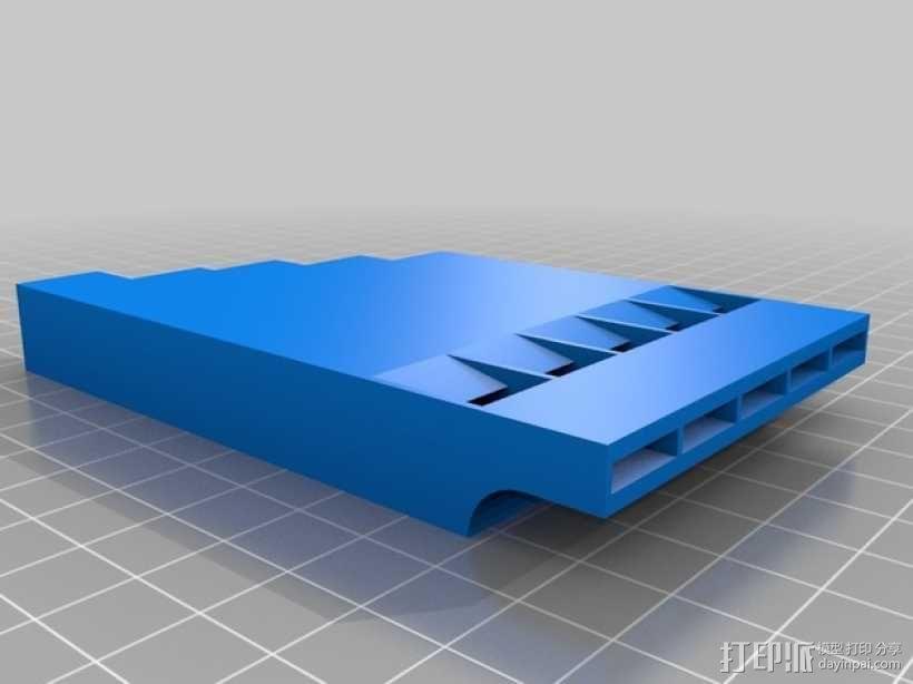 定制化多频哨子 3D模型  图1
