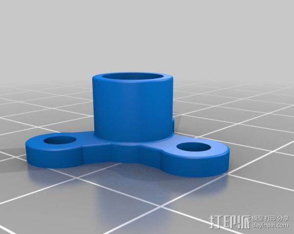 模块化Ublox定位系统外壳 3D模型  图3