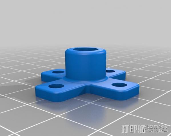 模块化Ublox定位系统外壳 3D模型  图4