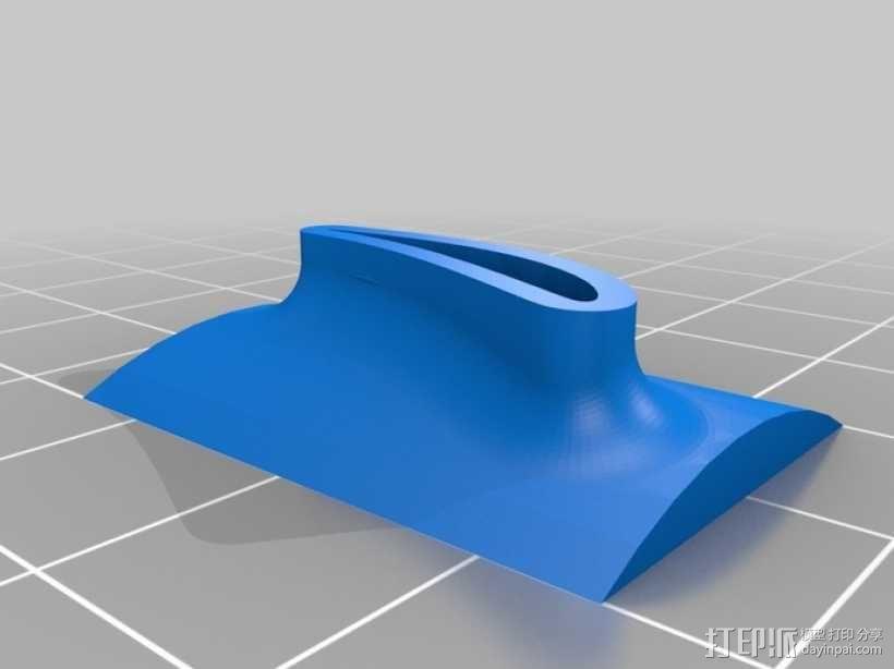 六叶风扇 3D模型  图2