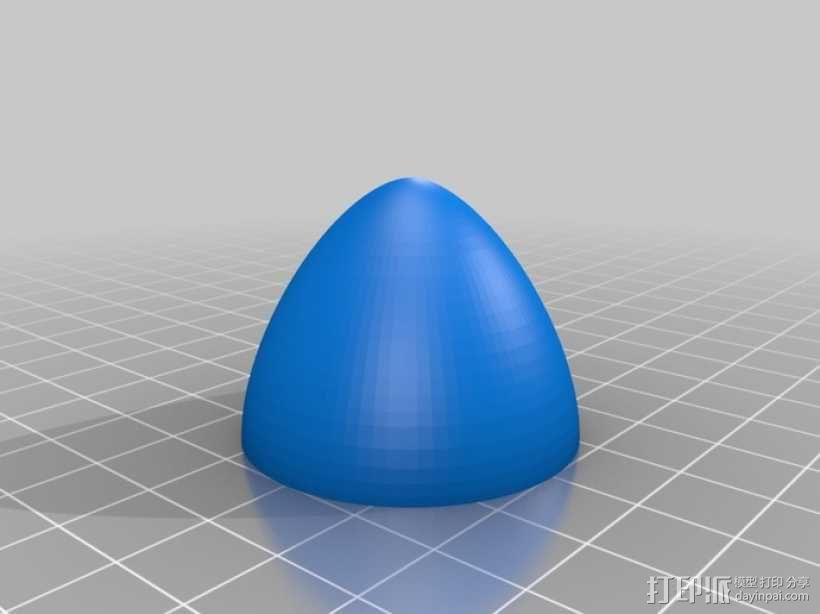 六叶风扇 3D模型  图5