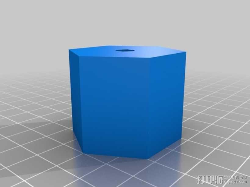 六叶风扇 3D模型  图6