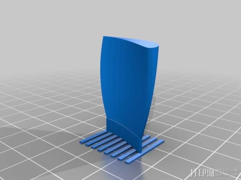 六叶风扇 3D模型  图8