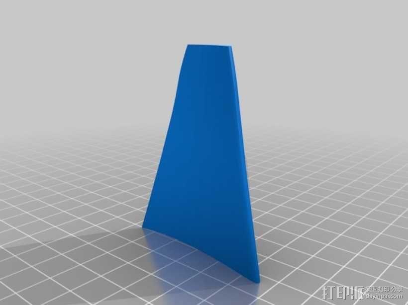 六叶风扇 3D模型  图10