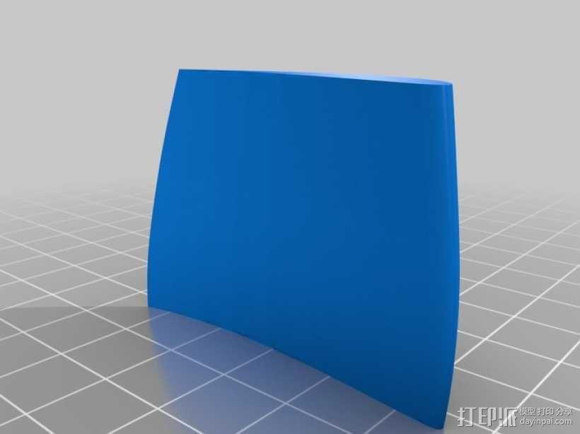 六叶风扇 3D模型  图9