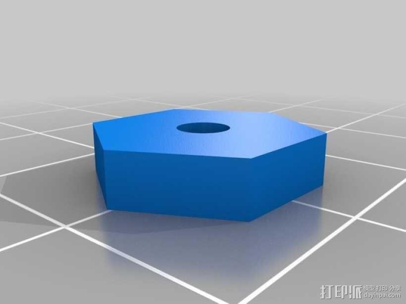 蜗轮齿轮 齿轮箱 3D模型  图8