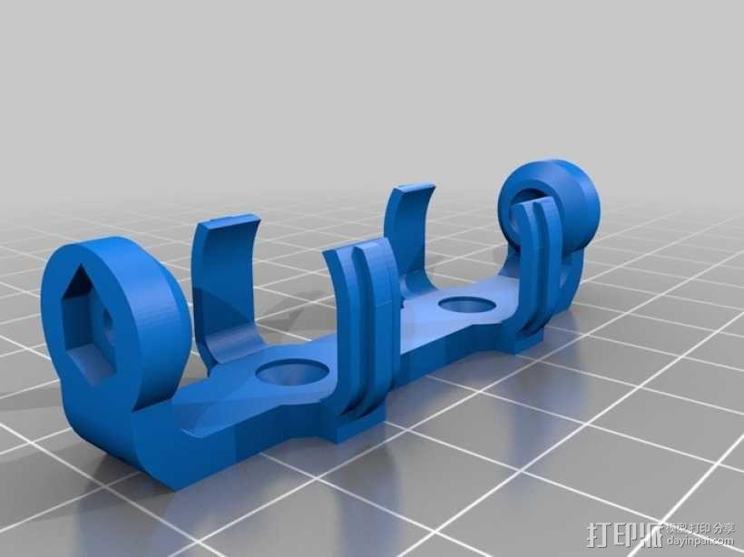 AA&AAA电池盒 3D模型  图7
