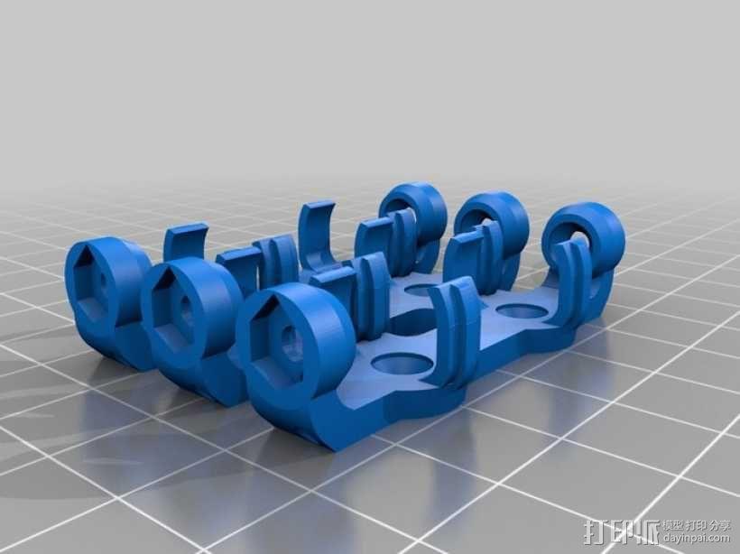 AA&AAA电池盒 3D模型  图10