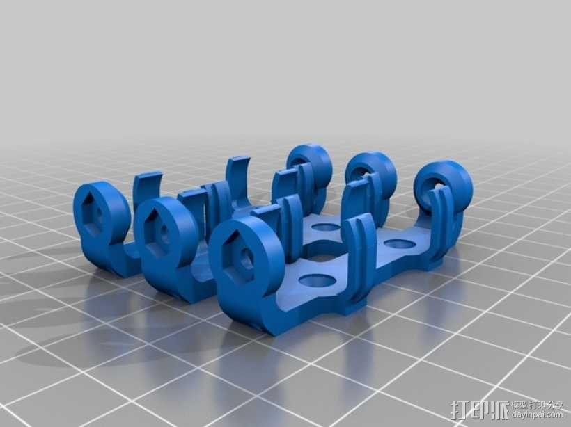 AA&AAA电池盒 3D模型  图9