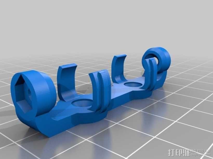 AA&AAA电池盒 3D模型  图12
