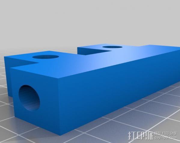 通用切瓶机 3D模型  图3