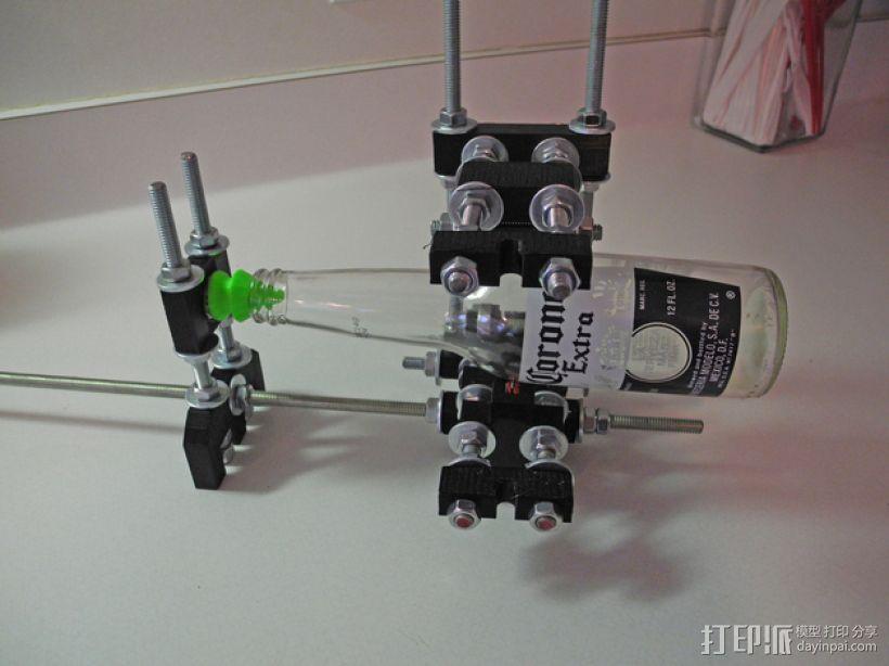 通用切瓶机 3D模型  图1