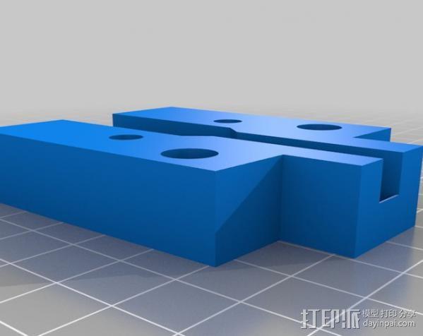 通用切瓶机 3D模型  图4