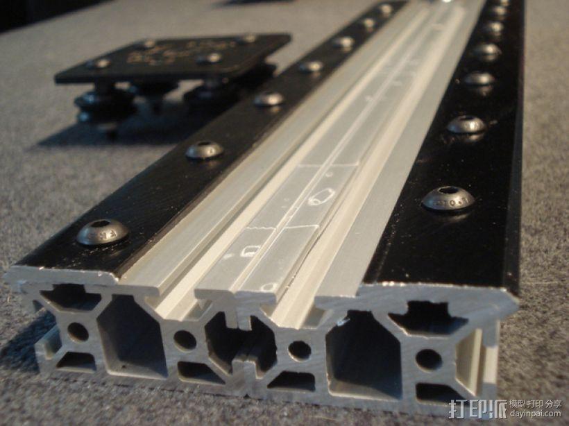 开源直线轴承系统 3D模型  图1