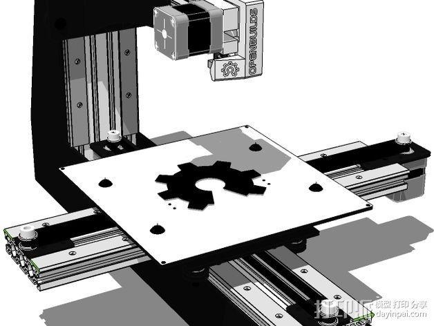 开源直线轴承系统 3D模型  图4