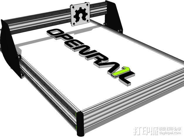 开源直线轴承系统 3D模型  图3