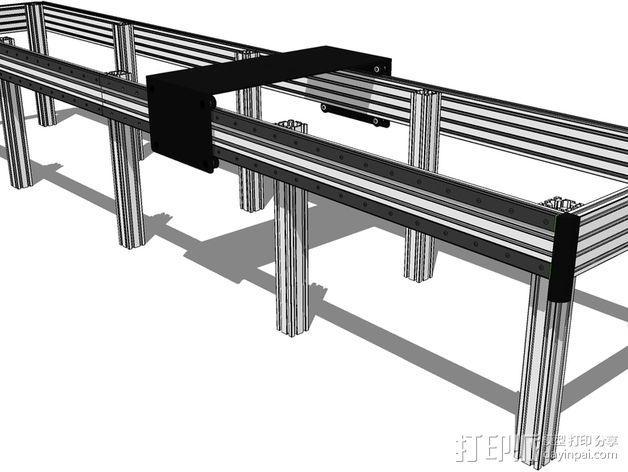 开源直线轴承系统 3D模型  图7
