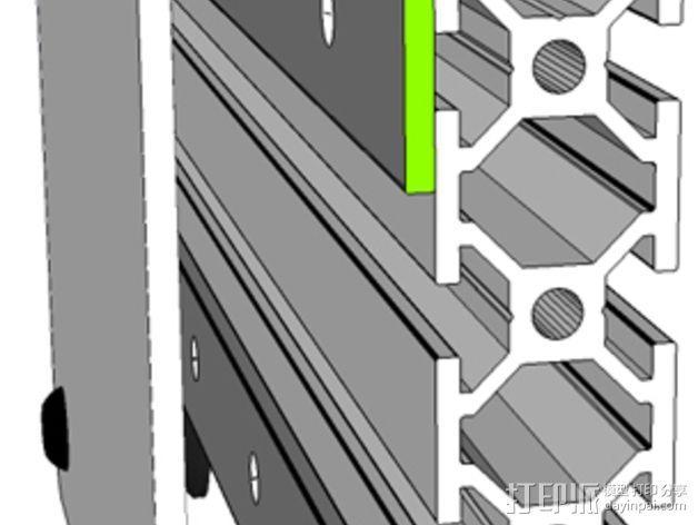 开源直线轴承系统 3D模型  图11