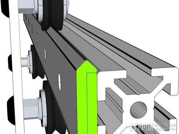 开源直线轴承系统 3D模型  图14