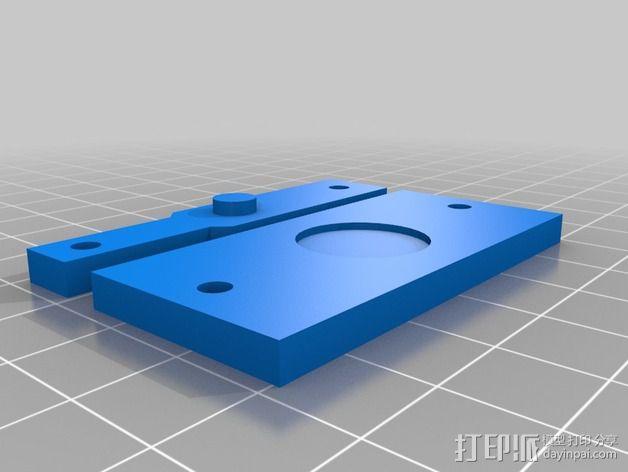 本田思域汽车传感器感应垫 3D模型  图2