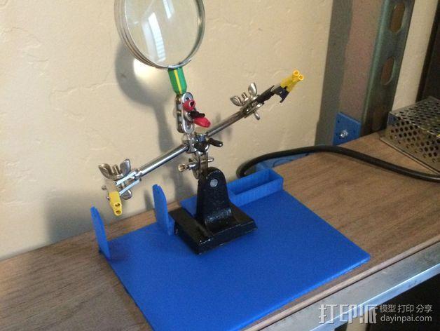 焊料底座 3D模型  图1