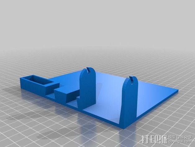 焊料底座 3D模型  图2