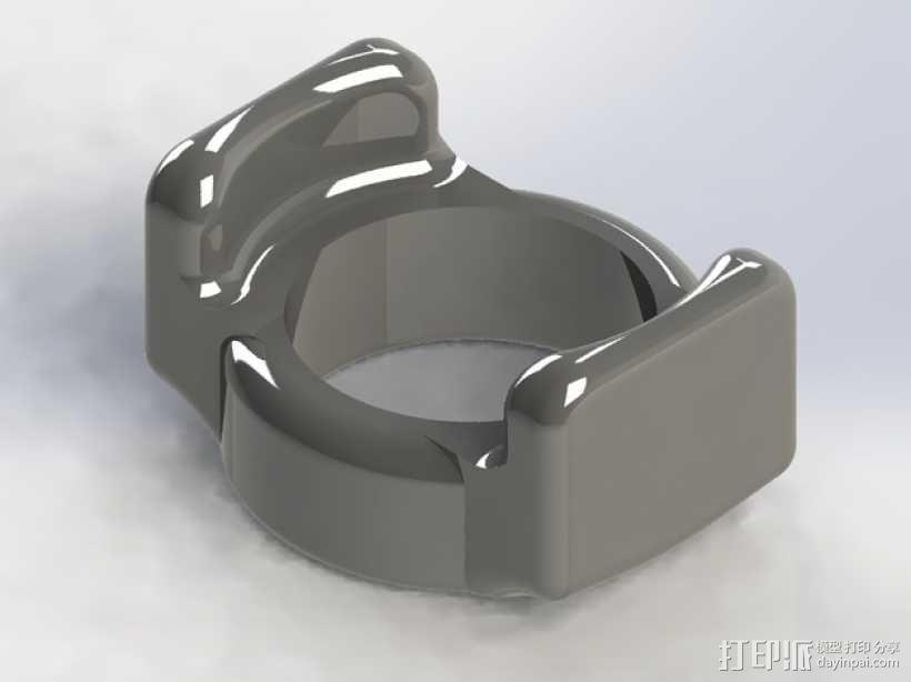 Mobius相机镜头保护器 3D模型  图1